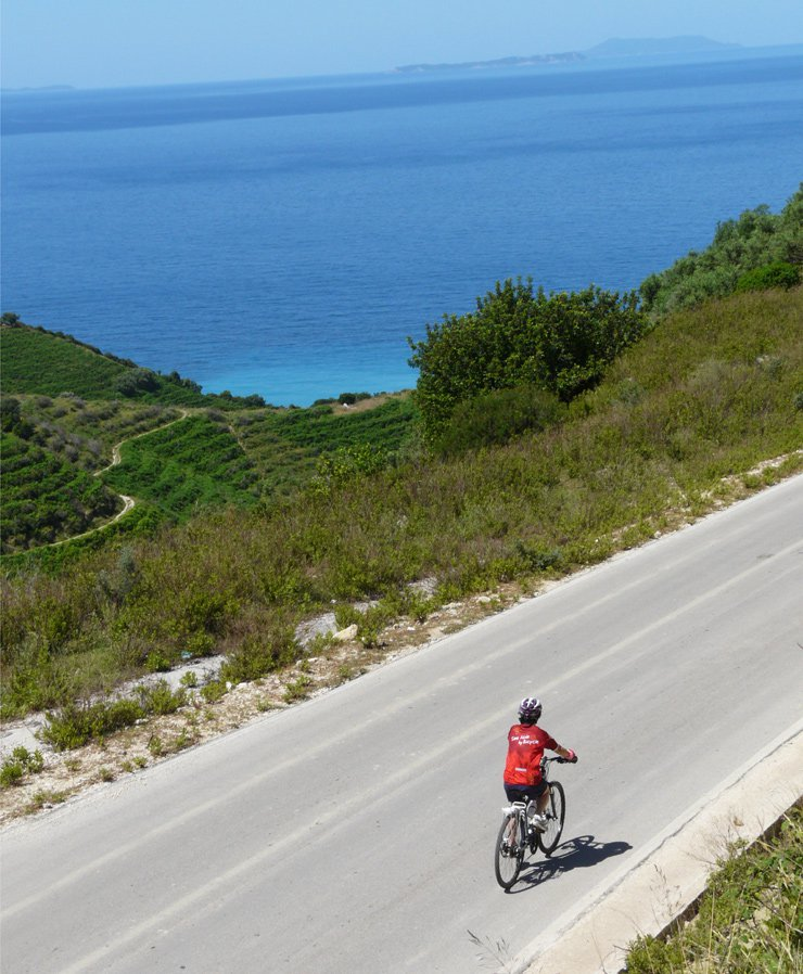 Albania cycling tours