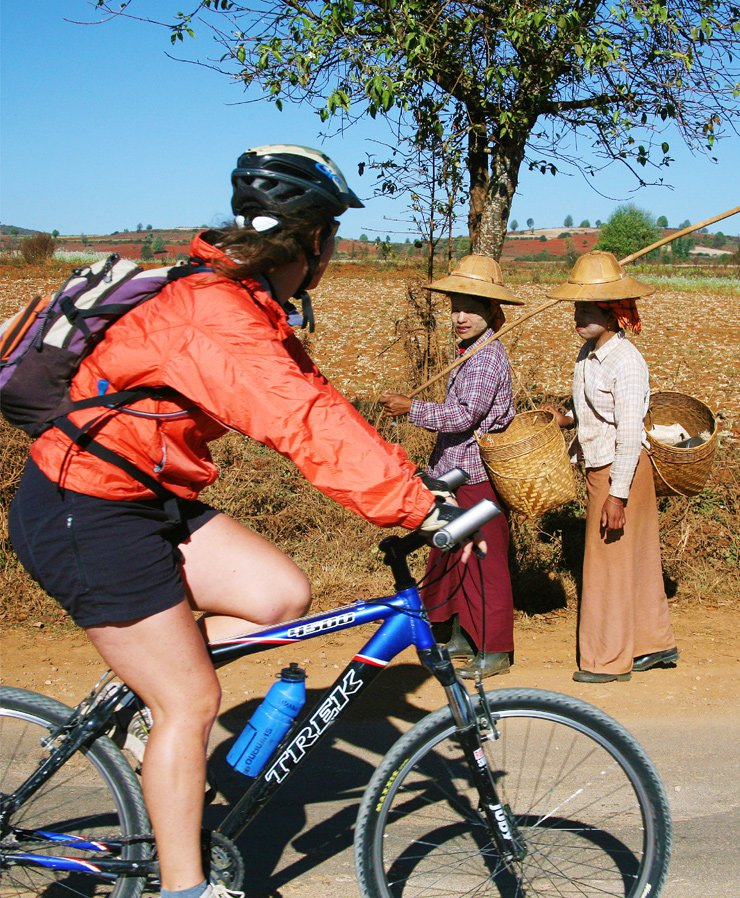 Burma cycling tours