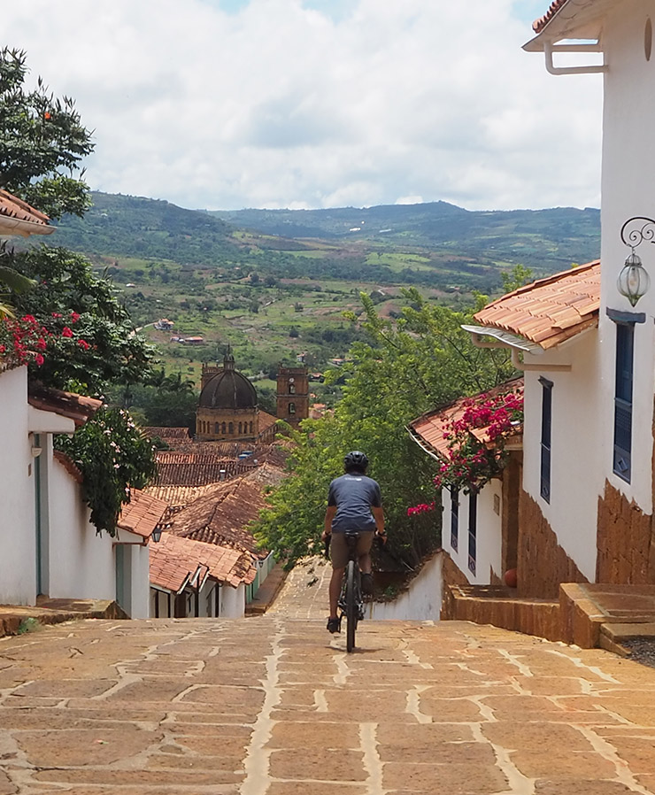 Colombia cycling tours