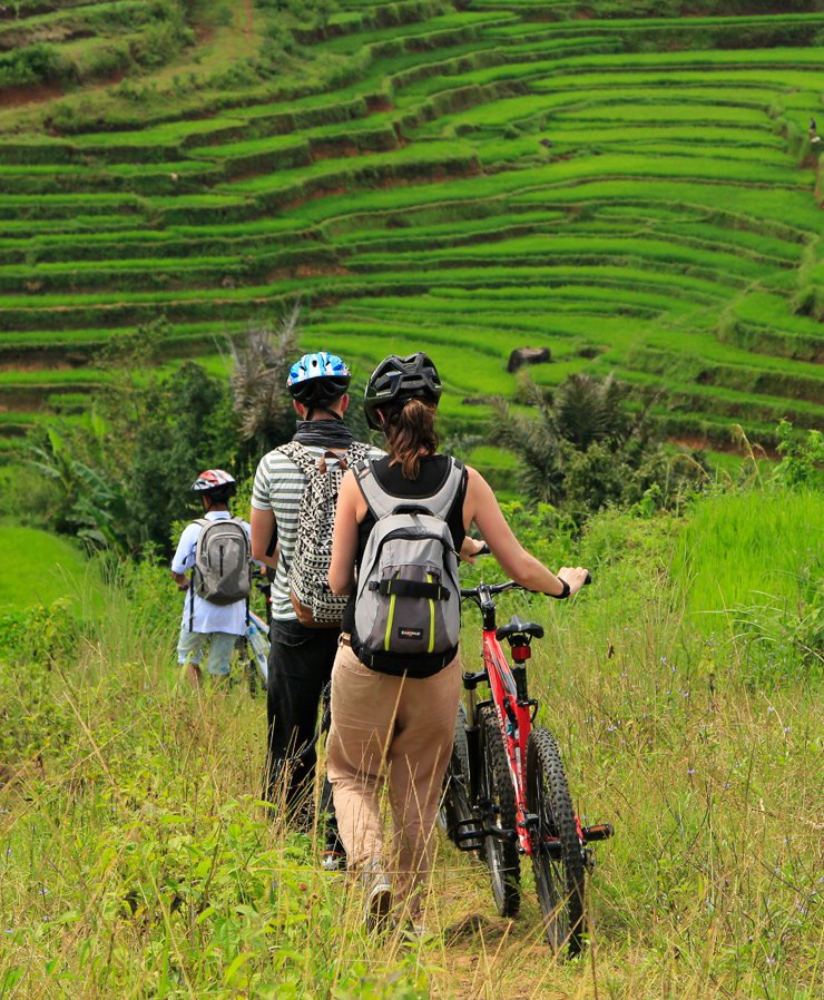 Indonesia cycling tours