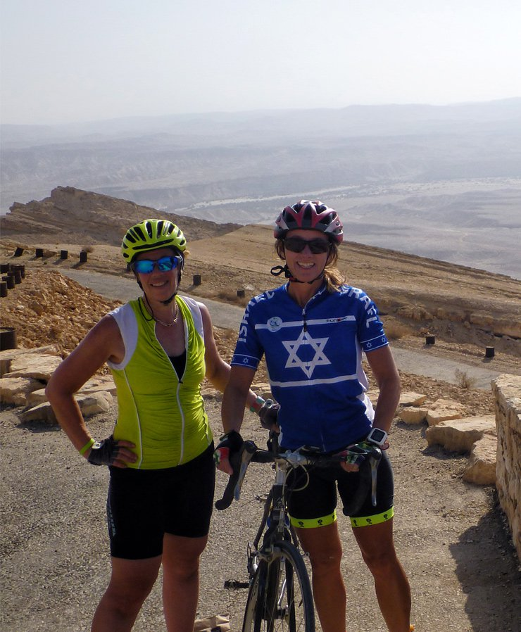 Israel cycling tours
