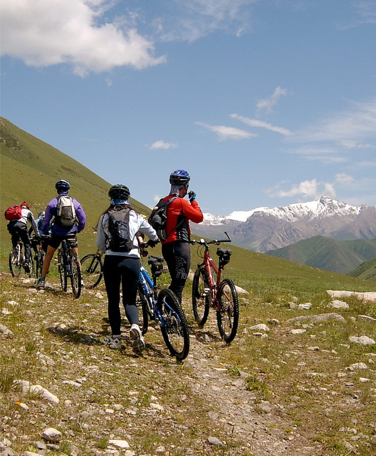 Kazakhstan cycling tours