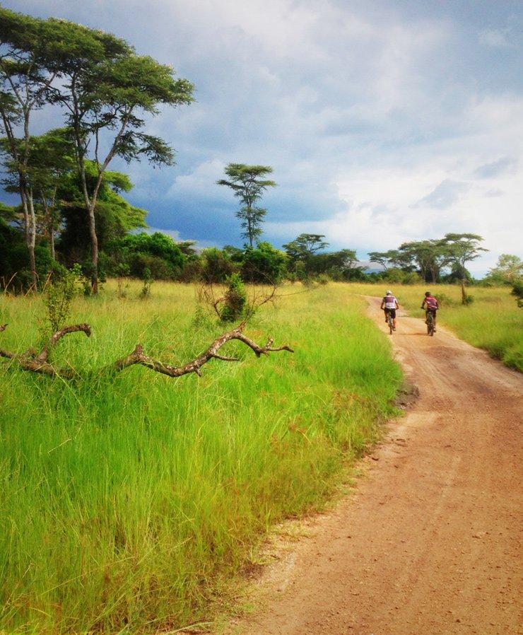 Uganda cycling tours