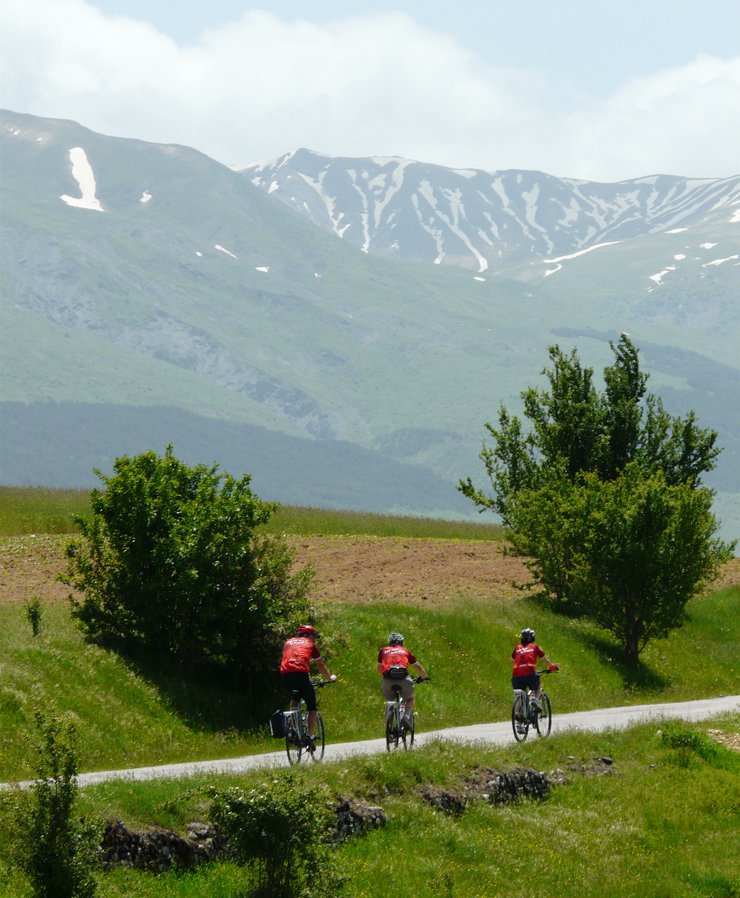 Touring cycling tours