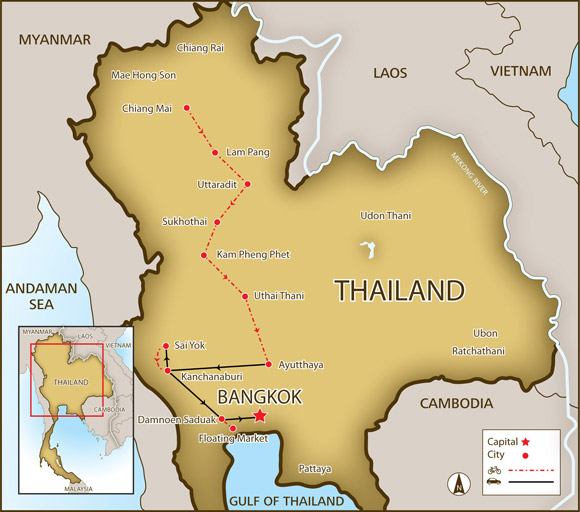 River Of Kings Bike Tour Experience Old World Thailand